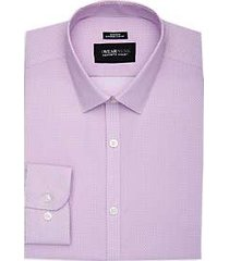 awearness kenneth cole pink floret extreme slim fit dress shirt