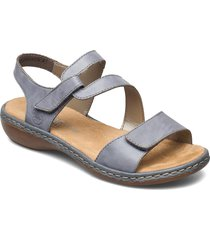 659c7-00 shoes summer shoes flat sandals grå rieker