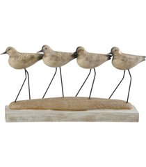 stylecraft beach bird coastal traditional table top accessory