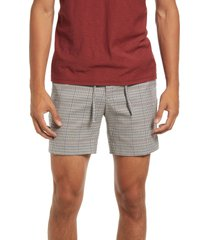 topman pupstooth shorts, size 36 in brown at nordstrom