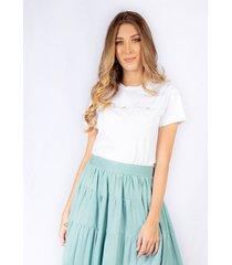 camiseta adrissa blanca bordado soñadora