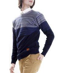 sweater azul redskin degradé