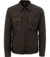 belstaff olive dunstall waxed jacket 71120197-olv