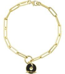 black arrow fob clip bracelet