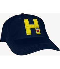 tommy hilfiger men's monogram baseball cap navy -