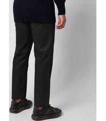 maison margiela men's coated denim jeans - black - w34