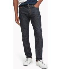 tommy hilfiger men's slim fit essential dark wash jean blue black dark wash - 30/34