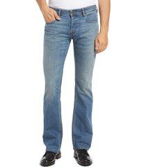 men's diesel zatiny-x bootcut jeans, size 29 - blue