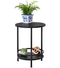 honey can do 2-tier round side table