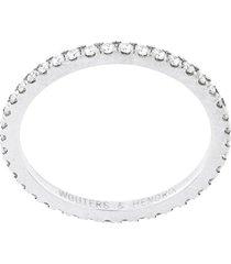 wouters & hendrix gold full diamond ring - metallic