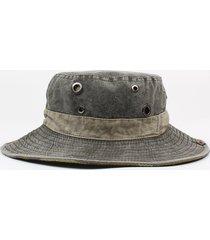 cappello da pescatore in cotone