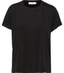 siff tee 6202 t-shirts & tops short-sleeved zwart samsøe samsøe