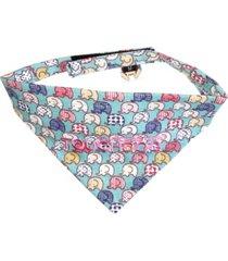 touchdog 'bad-to-the-bone' elephant patterned fashionable stay-put bandana large