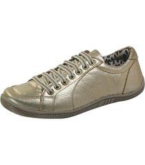 sapatênis calçar bem cadarço dourado