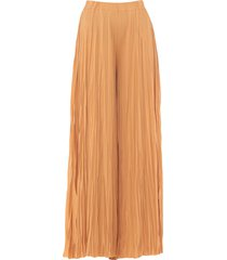 gold case long skirts