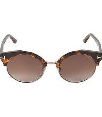 54mm tortoiseshell professor sunglasses