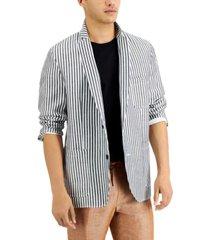 inc men's slim-fit striped blazer, created for macy's