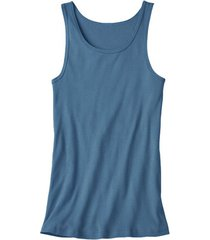 dubbelpak t-shirt zonder mouwen, jeansblauw 6