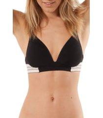 women's lively the deep v no-wire bra
