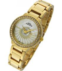 reloj dorado montreal