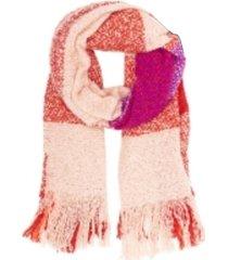 bufanda rosa trendy