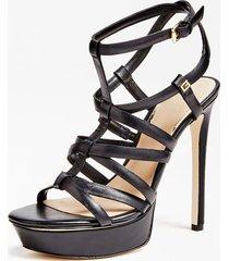 skórzane sandały model madra