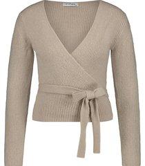 vest in shape beige