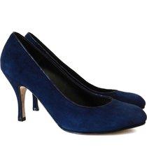 zapato azul battaglia laguna laguna stilletto clásico