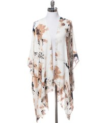 inc watercolor blossom pashmina topper, created for macy's
