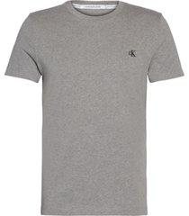 ck essential slim t-shirt gris calvin klein