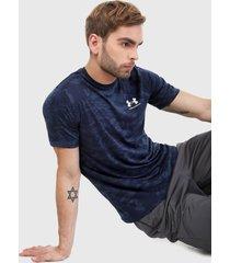 camiseta azul-negro under armour ua all-over