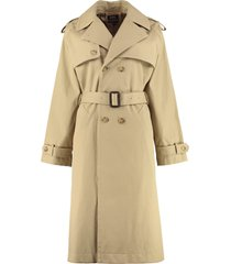 a.p.c. simone cotton trench coat