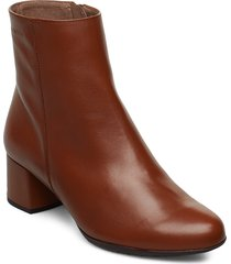 e-6401 shoes boots ankle boots ankle boots with heel brun wonders