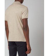 polo ralph lauren men's slim fit soft cotton polo shirt - tuscan beige heather - xxl