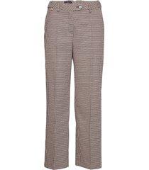 arwen checked trousers wijde broek multi/patroon morris lady
