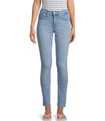 levi's women's 311 shaping skinny jeans - light blue - size 28 (4-6)