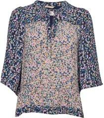 blouse blouse lange mouwen multi/patroon noa noa