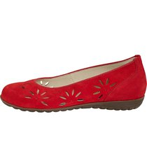 ballerinaskor waldläufer röd