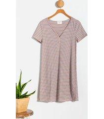beoncca striped mini dress - multi
