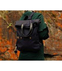 3w1 plecak czerń faktura