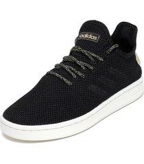 zapatilla court adapt negro adidas performance