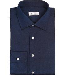 camicia da uomo su misura, canclini, jeans blu, quattro stagioni