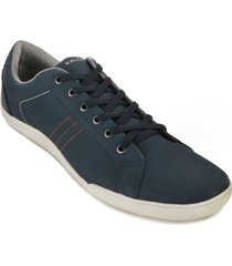 sapatênis cotton co18-k303 azul - masculino