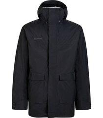 hooded jacket parka
