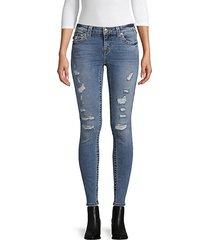 halle destroyed skinny jeans