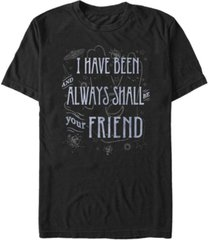 star trek men's the original series always be your hand short sleeve t-shirt