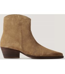mango ankelboots - brown