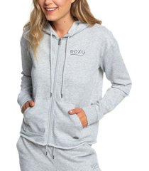 roxy juniors' logo-print burnout hoodie
