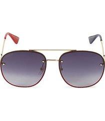 62mm aviator sunglasses