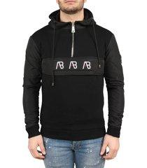 ab lifestyle anorak hoodie zwart